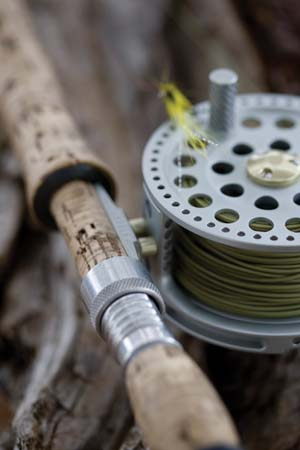 CSP Greeting Cards 'Fly Rod & Reel'