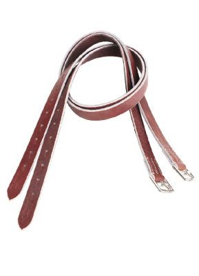 Jeffries Buffalo Hide Stirrup Leathers