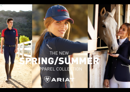 Ariat Team Apparel Collection Spring Summer 2020